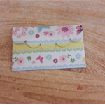 Handmade Butterfly  Gift Card Holder