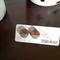 TASMANIAN MYRTLE EARRINGS - Grey & Bronze Glitter