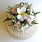 Frangipani & Rose Cake Topper