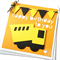 Little Construction Truck Birthday card, Happy birthday, first birthday party