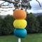 'Tropicana' Handmade Polymer Clay Keyring