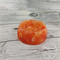 Button Bowl - Resin & Buttons - ORANGE