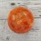 Button Bowl - Resin & Buttons - ORANGE