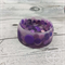 Button Bowl - Resin & Buttons - PURPLE