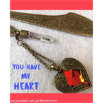 YOU HAVE MY HEART bookmark