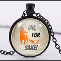 FOR FOX SAKE PENDANT