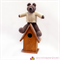 Gideon - Hand Knitted Bear