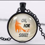 FOR FOX SAKE PENDANT