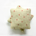 Lavender Sachets - Set of 3 - Printed Linen Hearts and Dots