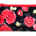 Make Up Bag in Gorgeous Floral Fabric