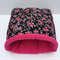 Guinea Pig Snuggle Sack Bed - Pink Flowers