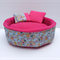 Guinea Pig Bed/Cuddle Cup - Blue Flowers