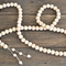 Rosary Bohemian BOHO Beads Wood Garland Home Decor Tassel Decorative Bead Accent