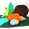 Dinosaur Felt Play Mat, Dinosaur Playscape