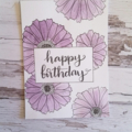 Assorted Birthday Cards - pack of 4