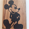 Mickey Mouse Wooden Block Mount