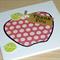 Teacher thank you card - the big apple
