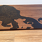 Lion King Wooden Block Mount