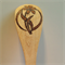 Decorative Wooden Serving Spoon