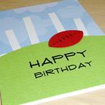 Football Birthday card - boys or girls!