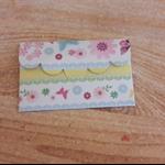 Decorative Gift  Voucher Holder-Attractive Floral Theme.