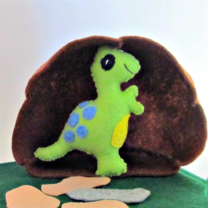 Dinosaur Felt Play Mat Dinosaur Playscape Creative