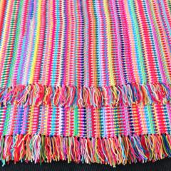 Crochet blanket - Colour Explosion