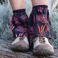 Gaiters: short hike gaiter, stone sand burr protection. Cotton n'elastic
