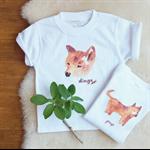 Dingo Onesie - Australian - Australia -  Organic Cotton