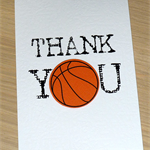Thank you Coach card - Soccer Basketball Netball Football