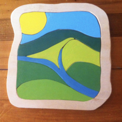 River Valley Wooden Puzzle