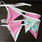 Fabric Princess Fairy Bunting - Pink Bunting - Girl Bunting - Fairy Bunting