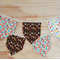 Square Fabric Bunting | Into the Woods Flags | Baby Shower Bunting | Woodland