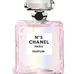 Perfume bottle pink