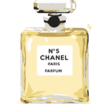 Perfume bottle yellow