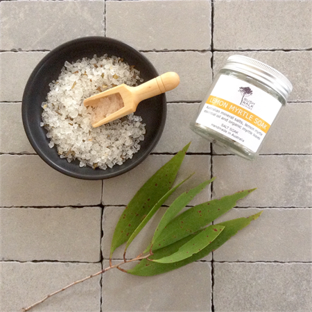 Lemon Myrtle - Bath Salts -