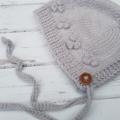 Made to Order - Little Bonnet - Hand Knitted  - 100% Australian Wool