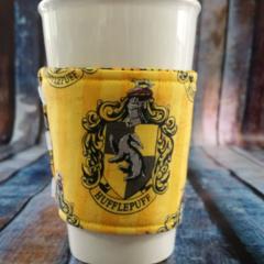 Coffee Cup Wrap: Hufflepuff.