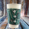 Coffee Cup Wrap: Slytherin.