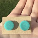 'Under the sea' Handmade Polymer Clay Stud Earrings