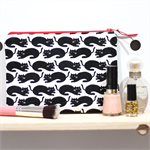 Black Cats Zipped Pouch or Pencil case