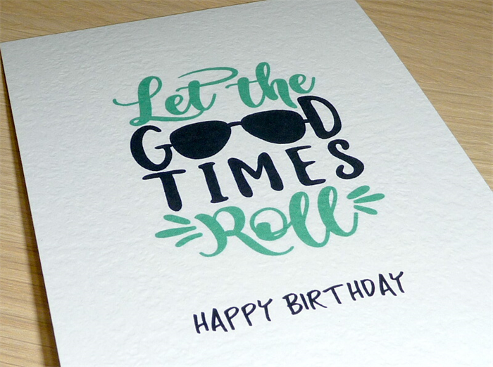 Happy Birthday Images For Men ~ Male happy birthday card let the good times roll vicki g