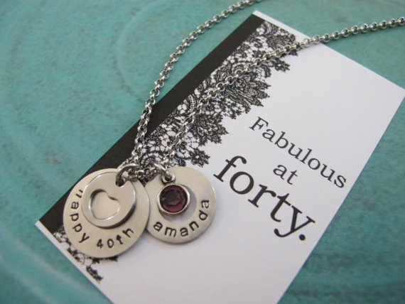 40th Birthday Gift For Her Best Friend Gift Personalized Name
