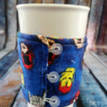 Coffee Cup Wrap: Super Heroes