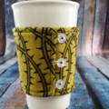 Coffee Cup Wrap: Prickly Pear.