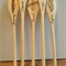 Decorative Wooden Spoon Set