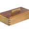 Elegant Wooden Keepsake Box made from Australian Jarrah and Blackbutt