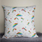 Unicorn and Rainbow cushion, rainbow decor, Unicorn decor, Unicorn print,