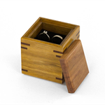 Wooden Proposal Ring Box made from Australian hardwoods