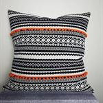 Boho cushion, boho decor, boho european pillow, boho style, boho furnishing.